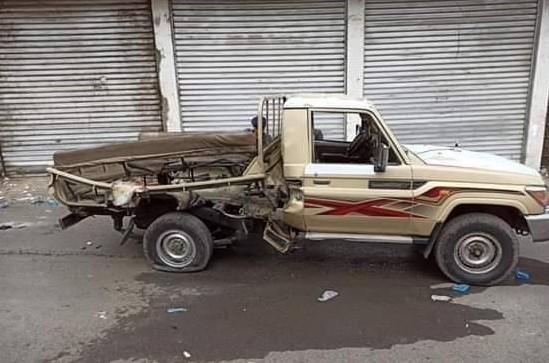 تعز.. مقتل جندي وإصابة 3 آخرين بانفجار عبوة ناسفة وسط المدينة