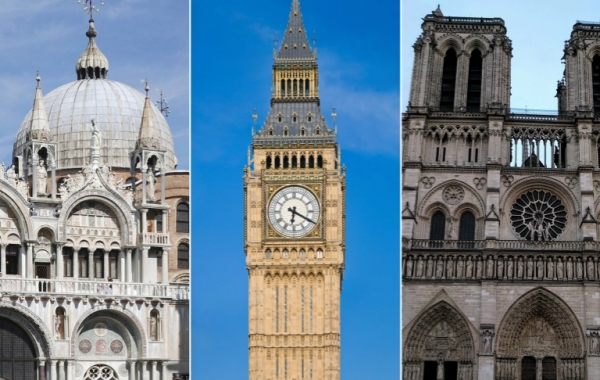 الجذور العربية للعمارة الغربية.. كيف تمت سرقة كنيسة نوتردام وبيغ بن من سوريا والعالم الإسلامي؟