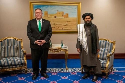 السلام الأفغاني.. بومبيو يلتقي وفد