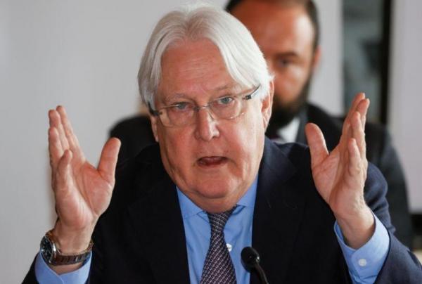 غريفيث يقول إن عملية إطلاق سراح المحتجزين علامة جديدة وحميدة لجهود الأمم المتحدة في اليمن