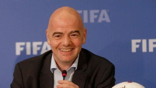 إنفانتينو : سعداء بما أنجزته قطر في تجهيزات مونديال 2022