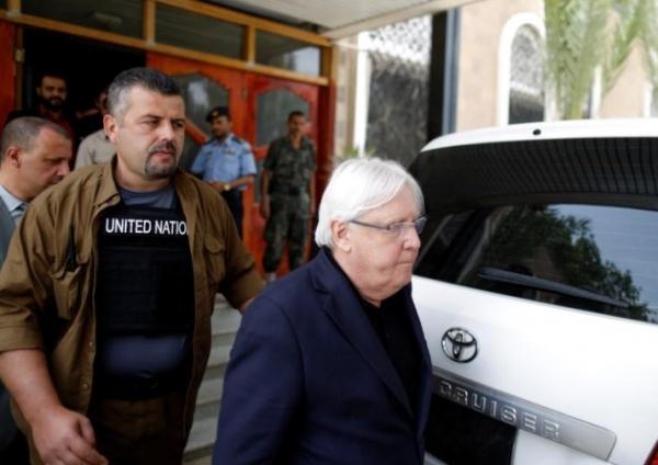 غريفيث يدعو أطراف الصراع باليمن للموافقة على نص الإعلان المشترك