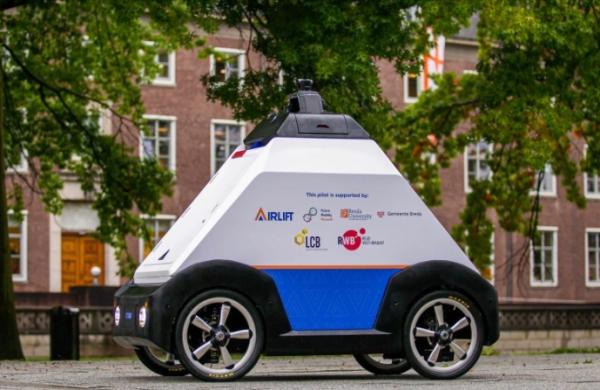 بالفيديو: إنتاج أول مركبة قطرية ذاتية القيادة لتوصيل الطلبات