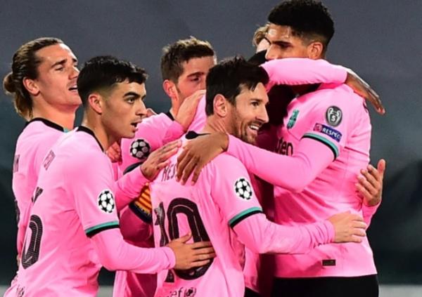 بعد حقبة بارتوميو.. برشلونة يهزم يوفنتوس بعقر داره ومان يونايتد يسحق لايبزيغ