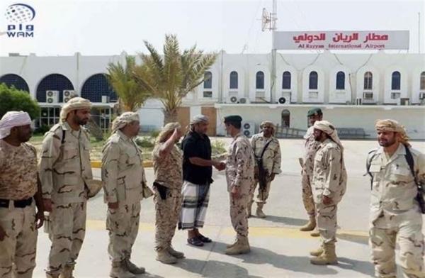 القوات الإماراتية ترفض توجيهات الحكومة اليمنية بإعادة تشغيل مطار الريان