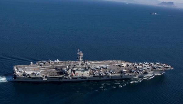 """بعد قرار سحبها لـ """"خفض"""" التوتر.. البنتاغون يبقي حاملة الطائرات بموقعها لمواجهة أي تهديد إيراني"""