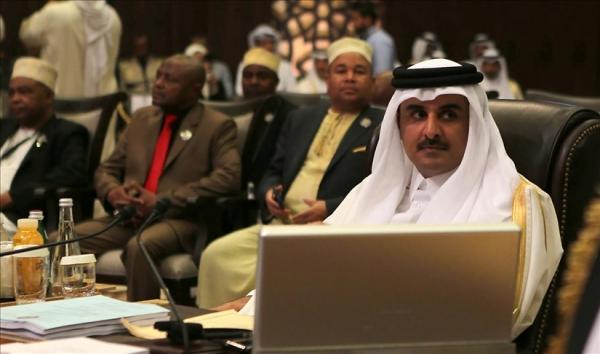 أمير قطر يترأس وفد بلاده في القمة الخليجية بالسعودية الثلاثاء