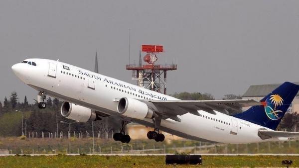 وصول أول طائرة سعودية إلى الدوحة منذ 2017