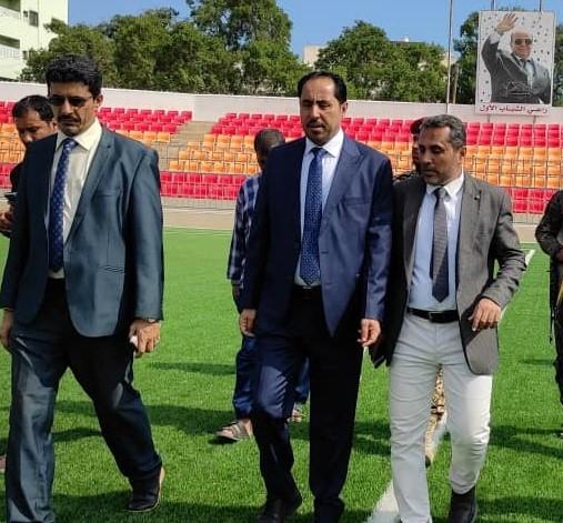 وزير الشباب والرياضة يتعهد بإنجازات مستمرة