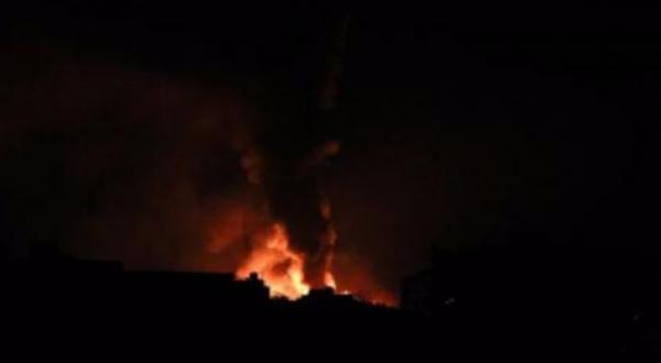 دوي انفجارت في حي عصيفرة شمالي مدينة تعز