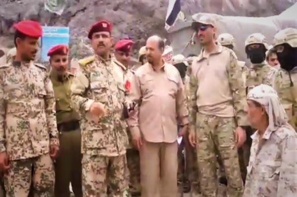 """ألوية الحماية الرئاسية تتسلم موقع قلعة """"صيرة"""" في عدن"""