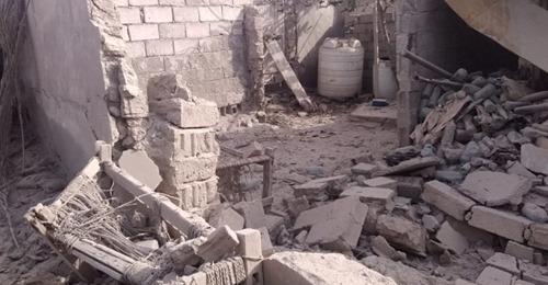 تدمير خمسة منازل بقصف حوثي جنوبي الحديدة