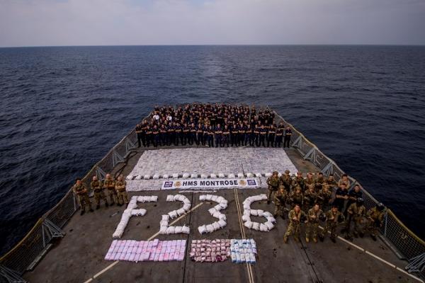 قوات أمريكية تضبط أكثر من 2400 كجم من المخدرات قبالة السواحل اليمنية (ترجمة خاصة)