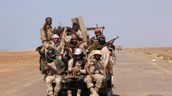 قوات الجيش الوطني تشن هجوماً على مواقع للحوثيين في الضالع