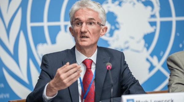 لوكوك: مساعدات المانحين غير كافية لدرء مجاعة في اليمن ونبحث إمكانية عقد مؤتمر إضافي