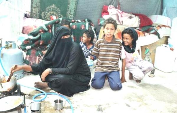 الأمم المتحدة تعلن نزوح 151 أسرة يمنية خلال أسبوع جراء الصراع