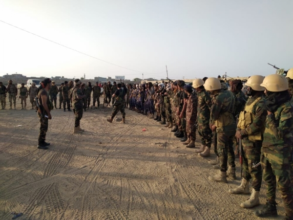 Abyan .. Security deployment on the Ahwar International Road, following the increasing number of travelers intersecting