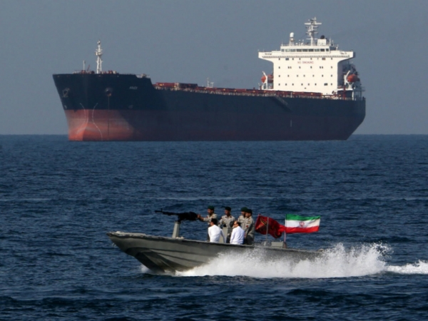 The Pentagon comments on reports of striking an Iranian ship in the Red Sea