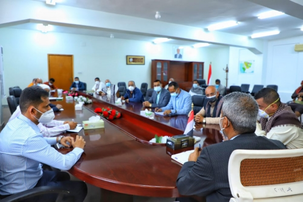 The Ministry of Health directed to prepare an urgent study to establish new isolation centers in Taiz