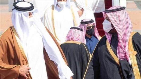 الأول منذ المصالحة الخليجية.. أمير قطر يهاتف العاهل السعودي