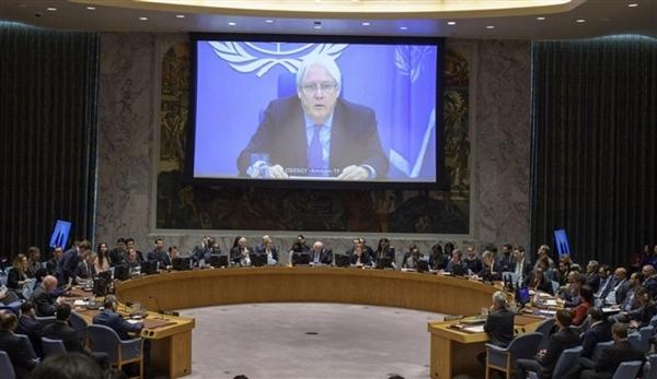 غريفيث سيقدم إحاطته لمجلس الأمن عن مستجدات الوضع في اليمن الخميس