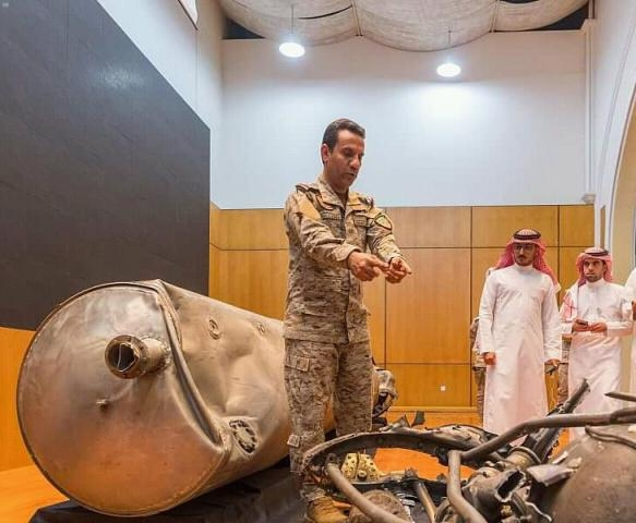 The Coalition: Intercept and destroy a ballistic missile launched by the Houthi movement towards Saudi Arabia
