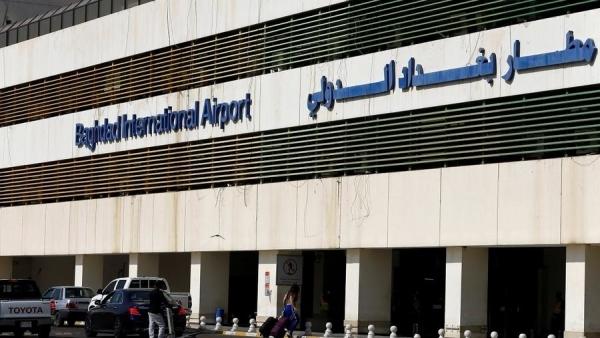 تضم قوات أميركية.. هجوم بالصواريخ على قاعدة عسكرية في مطار بغداد الدولي