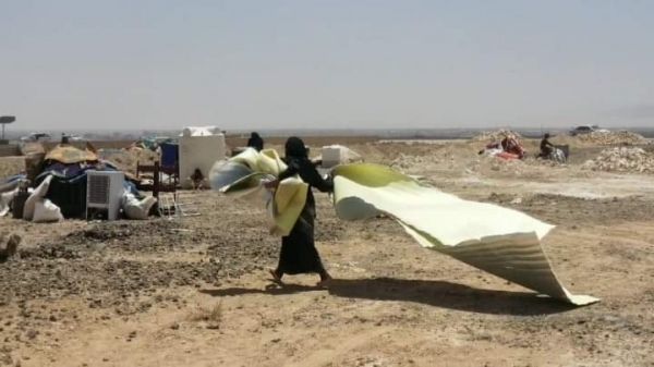 الأمم المتحدة: نزوح 262 أسرة خلال الأسبوع الأول من مايو