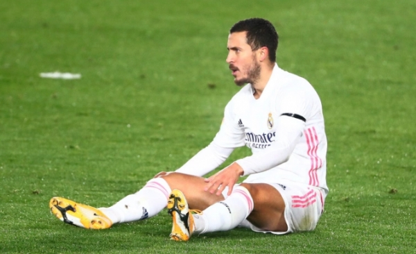 بالأرقام.. مأساة هازارد في ريال مدريد
