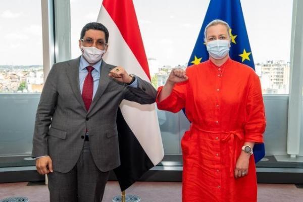 مفوضية الشراكات في الاتحاد الأوروبي تؤكد التزام الاتحاد بالعمل من أجل تخفيف المعاناة عن اليمنيين