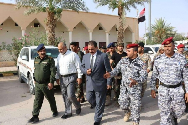 حيدان يبدأ زيارة رسمية إلى القاهرة لبحث التعاون الأمني بين البلدين