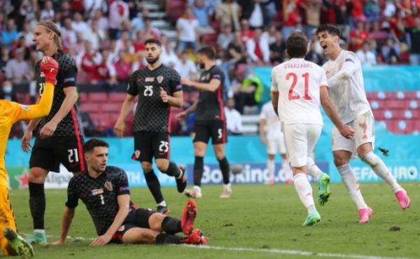 أجمل مباريات يورو 2020.. 8 أهداف في مواجهة انتهت بتفوق إسبانيا على كرواتيا