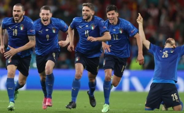 المنتخب الإيطالي يتأهل لنهائي كأس أمم أوروبا على حساب إسبانيا
