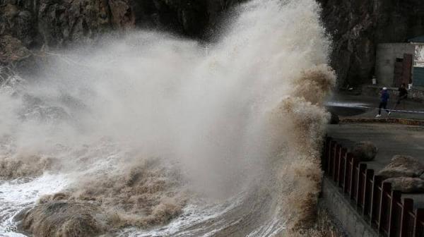 بعد الفيضانات المدمرة.. إعصار شديد في طريقه للصين