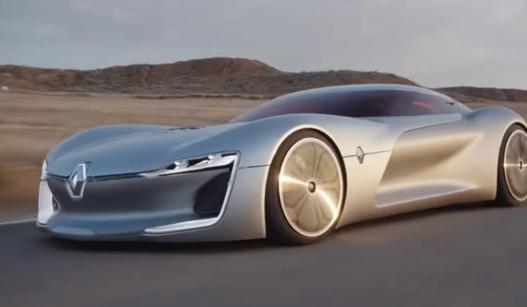واحدة تتنفس والأخرى تتمدد.. شاهد نماذج رينو المجنونة لسيارات المستقبل