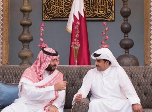 أمير قطر يعين بندر العطية سفيرا فوق العادة لدى الرياض