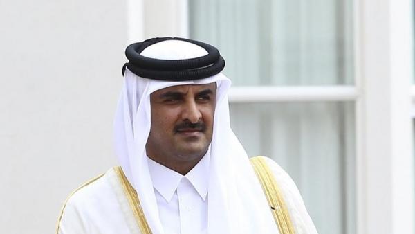 أمير قطر والرئيس الأمريكي يبحثان المستجدات بأفغانستان