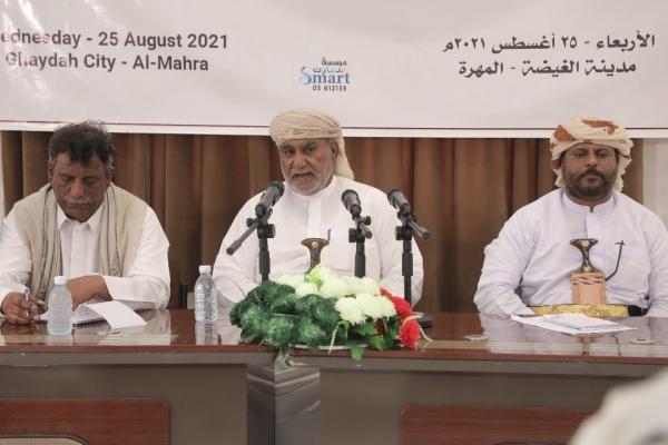 الشيخ الحريزي يتوعد بالتصعيد ضد الأجنبي في المهرة ويكشف تداعيات وصول القوات البريطانية والسعودية