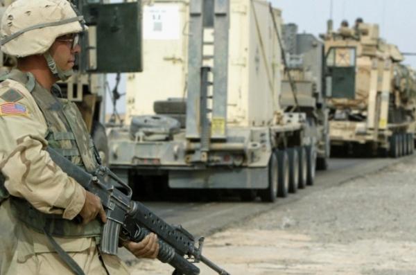 العراق.. هجوم صاروخي يستهدف قاعدة أميركية على الحدود العراقية الكويتية