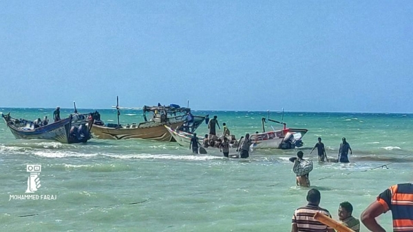 The Houthis: Eritrea released 118 Yemeni fishermen it had held for months