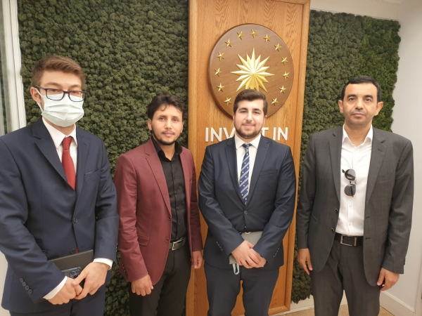 شركة قادرون لقيادة الأعمال تزور مكتب الاستثمار التابع لرئاسة الجمهورية التركية