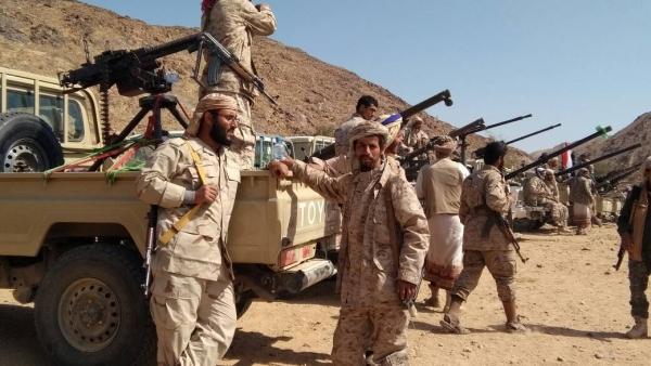 الجيش الوطني يصد هجوما مكلفا للحوثيين في البيضاء
