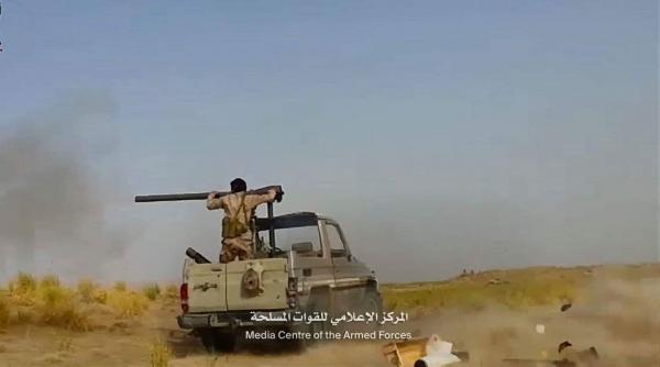 الجيش الوطني يشن هجوما على الحوثيين شرقي الجوف