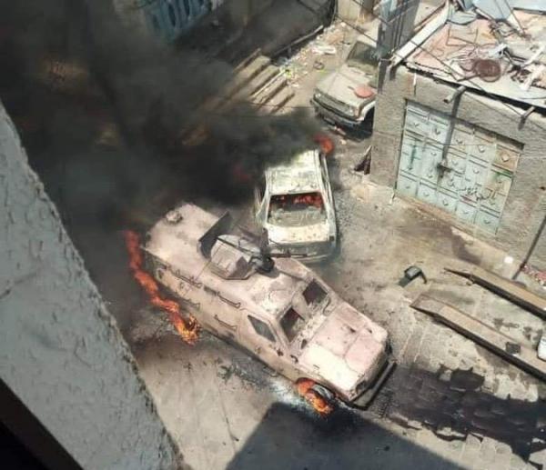 كهرباء عدن: ننتظر عودة الأوضاع الأمنية بكريتر لإصلاح أسلاك التيار