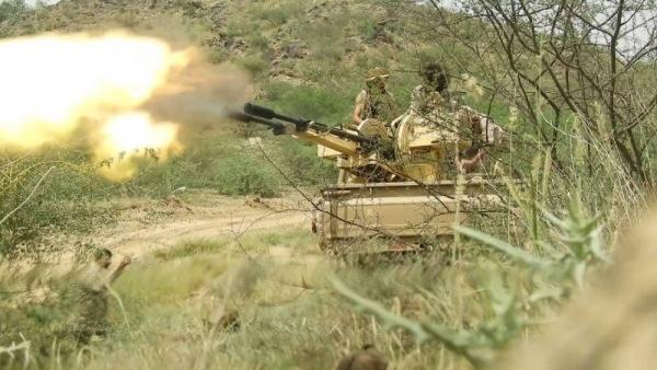 مقتل وإصابة 19 حوثيا بكمائن للجيش غربي الضالع
