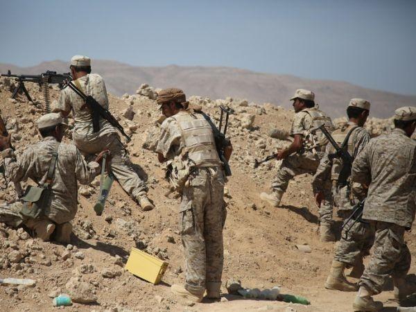 الجيش الوطني: حريب لقنت الحوثيين هزيمة قاسية