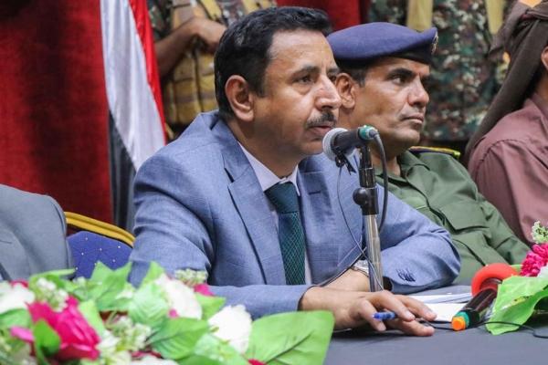 بن عديو يدعو إلى نبذ الخلاف وتوحيد الجهود لمواجهة مشروع الحوثي