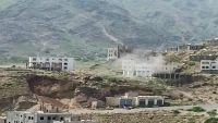 سقوط 17 قتيلا من الميليشيات في مواجهات اليوم بتعز