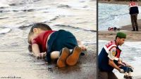 ألماني يحتفل بحادثة غرق الطفل السوري على فيسبوك