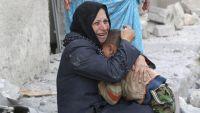 كيف جذبت سبع نساء سوريات انتباه العالم إلى العنف الدائر في مدينتهن؟